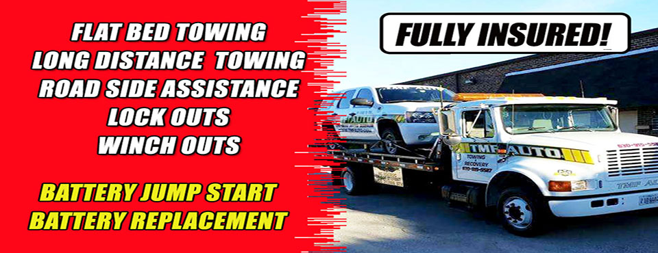 Can't make it to a mechanic? We'll tow to any destination or fix your car on site wherever you are!